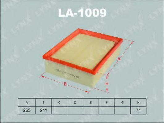 LYNXAUTO LA1009 Воздушный фильтр