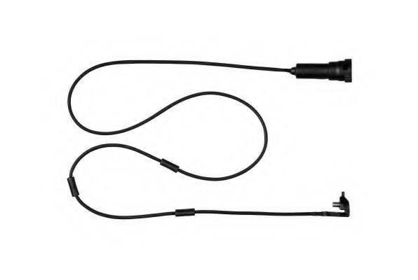 HELLA PAGID 8DK355250041 Сигнализатор, износ тормозных колодок