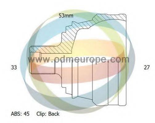 ODM-MULTIPARTS 12211694 Шарнирный комплект, приводной вал