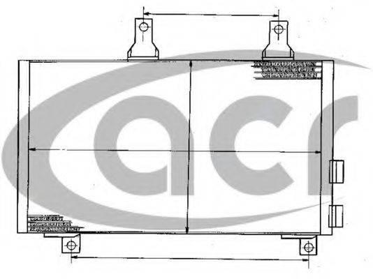 ACR 300236 Конденсатор, кондиционер