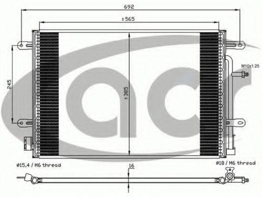 ACR 300603 Конденсатор, кондиционер