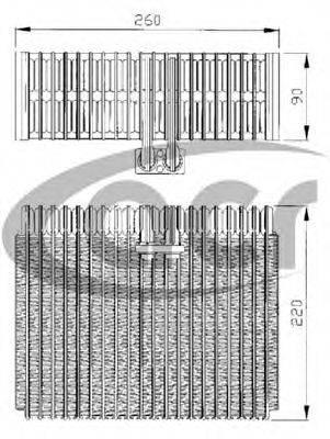 ACR 310127 Испаритель, кондиционер