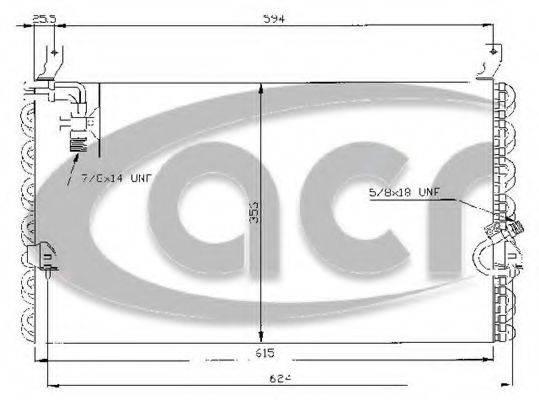ACR 300118 Опора стойки амортизатора