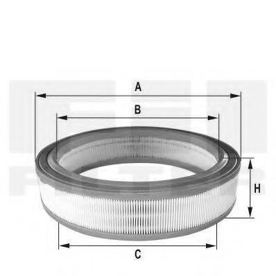 FIL FILTER HPU4312 Воздушный фильтр