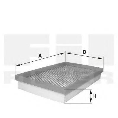FIL FILTER HP2168 Воздушный фильтр