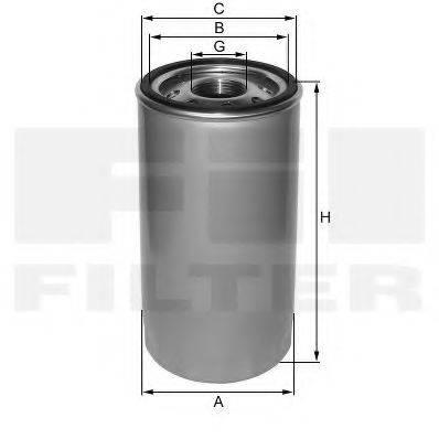 FIL FILTER ZP557C Масляный фильтр