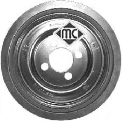 METALCAUCHO 04480 Ременный шкив, коленчатый вал