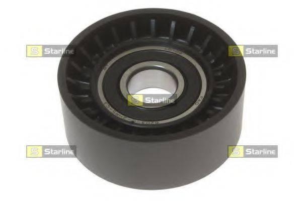 STARLINE RSB55710 Паразитный / ведущий ролик, поликлиновой ремень