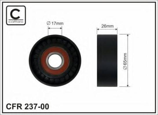 CAFFARO 23700 Паразитный / ведущий ролик, поликлиновой ремень