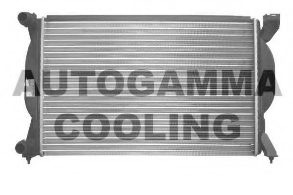 AUTOGAMMA 102980 Радиатор, охлаждение двигателя