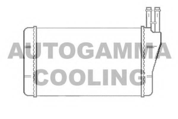 AUTOGAMMA 103186 Теплообменник, отопление салона