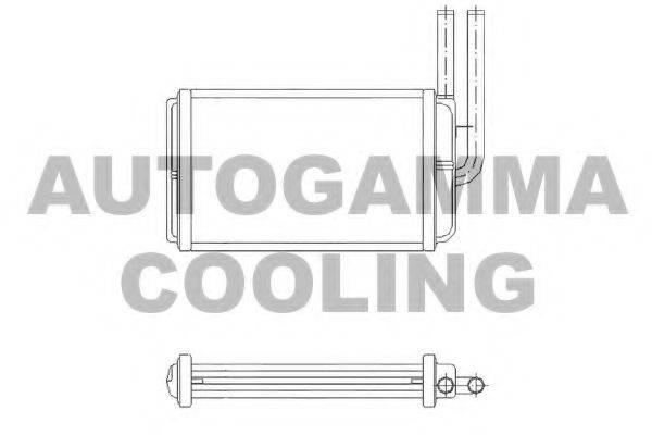 AUTOGAMMA 104215 Теплообменник, отопление салона