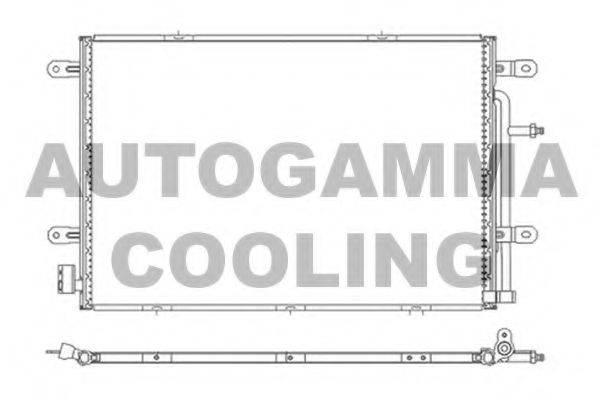 AUTOGAMMA 105243 Конденсатор, кондиционер