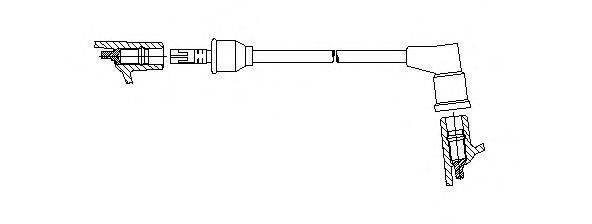 BREMI 31450 Провод зажигания