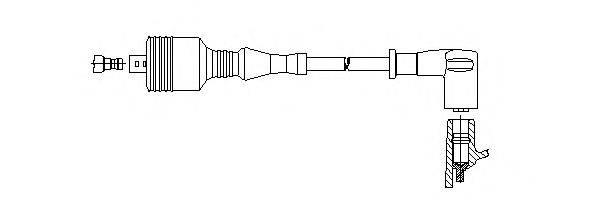 BREMI 66957 Провод зажигания