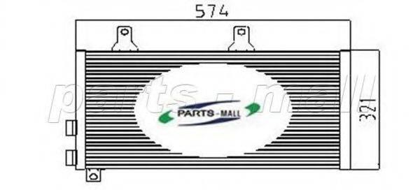 PARTS-MALL PXNCX001X Конденсатор, кондиционер