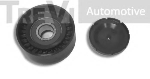 TREVI AUTOMOTIVE TA1788 Паразитный / ведущий ролик, поликлиновой ремень