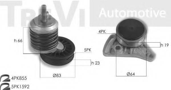 TREVI AUTOMOTIVE KA1107 Поликлиновой ременный комплект