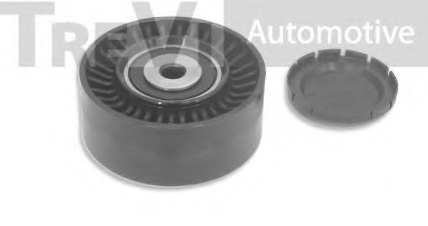 TREVI AUTOMOTIVE TA1755 Паразитный / ведущий ролик, поликлиновой ремень