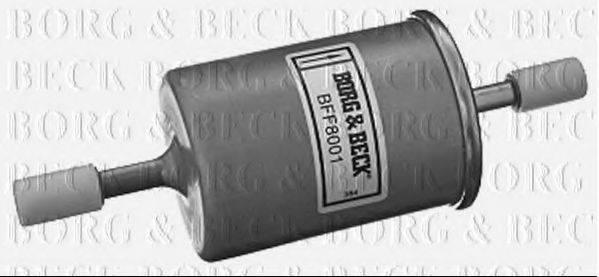 BORG & BECK BFF8001 Топливный фильтр