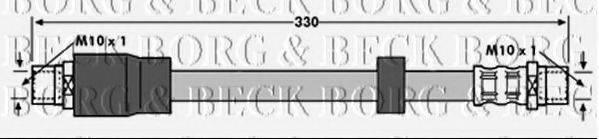 BORG & BECK BBH6891 Тормозной шланг