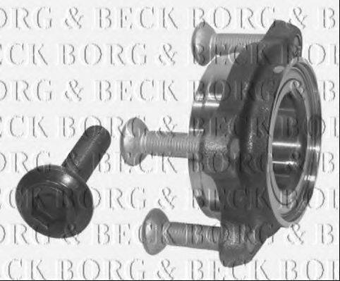 BORG & BECK BWK723 Комплект подшипника ступицы колеса