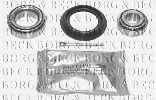 BORG & BECK BWK026 Комплект подшипника ступицы колеса