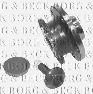 BORG & BECK BWK906 Комплект подшипника ступицы колеса