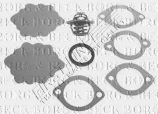 BORG & BECK BBT003 Термостат, охлаждающая жидкость