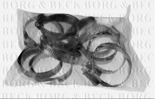 BORG & BECK BHC1001 Хомут, воздушный шланг компрессора