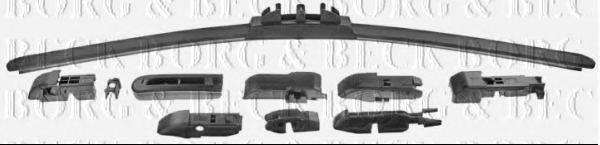BORG & BECK BW19F Щетка стеклоочистителя