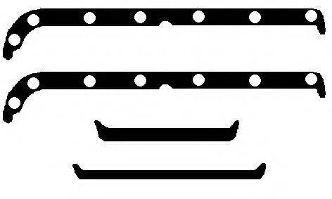 BGA OK6377 Комплект прокладок, маслянный поддон