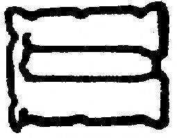 BGA RC2360 Прокладка, крышка головки цилиндра