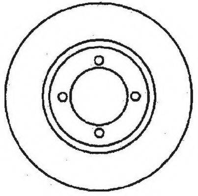 JURID 561097J Тормозной диск