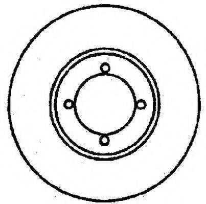 JURID 561292J Тормозной диск