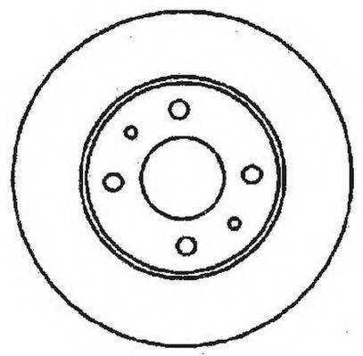 JURID 561380JC Тормозной диск