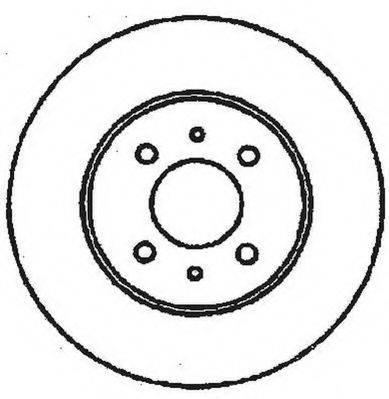 JURID 561469JC Тормозной диск