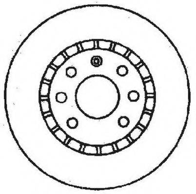 JURID 561488JC Тормозной диск