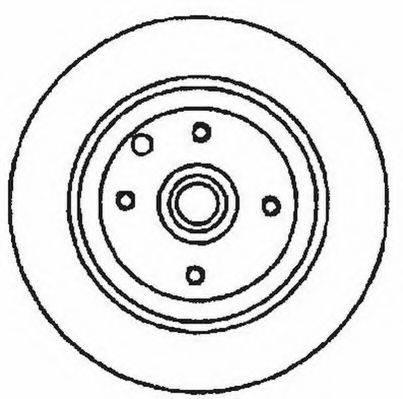 JURID 561530JC Тормозной диск