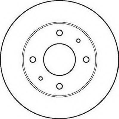 JURID 561861JC Тормозной диск
