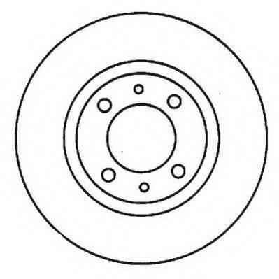 JURID 561923JC Тормозной диск
