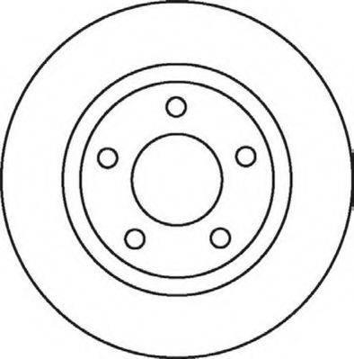 JURID 562060JC Тормозной диск