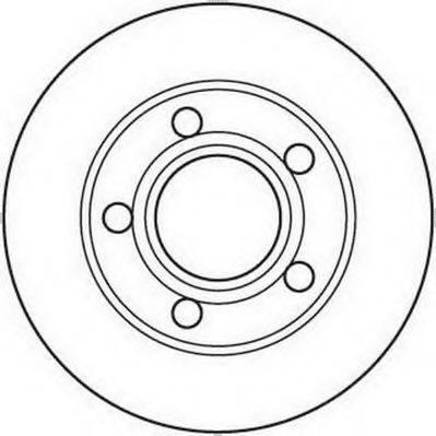 JURID 562089JC Тормозной диск