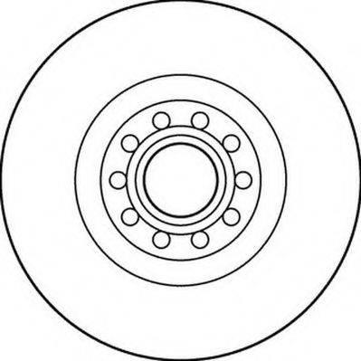 JURID 562205J Тормозной диск