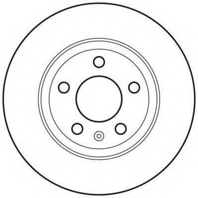 JURID 562667JC Тормозной диск