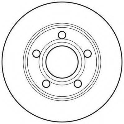 JURID 562690JC Тормозной диск