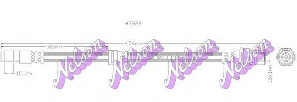BROVEX-NELSON H3924 Тормозной шланг
