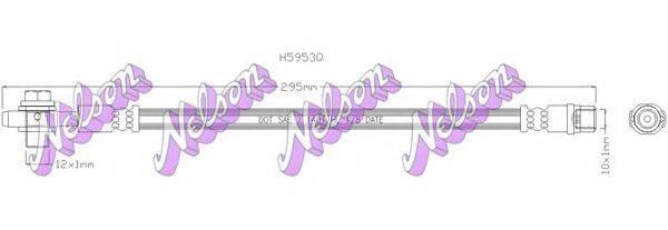 BROVEX-NELSON H5953Q Тормозной шланг