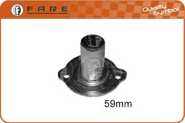 FARE SA 10581 Уплотняющее кольцо, ступенчатая коробка передач