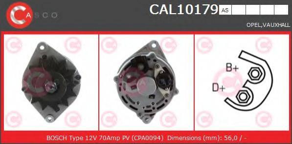 CASCO CAL10179AS Генератор